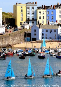 Tenby Harbour 3 yachts copy_compressed