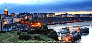 Tenby Harbour sunset_compressed