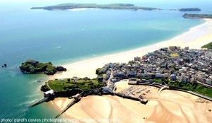 Tenby aerial and Caldey_compressed